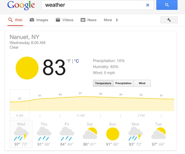 How to add Google Weather to the home screen on Android?
