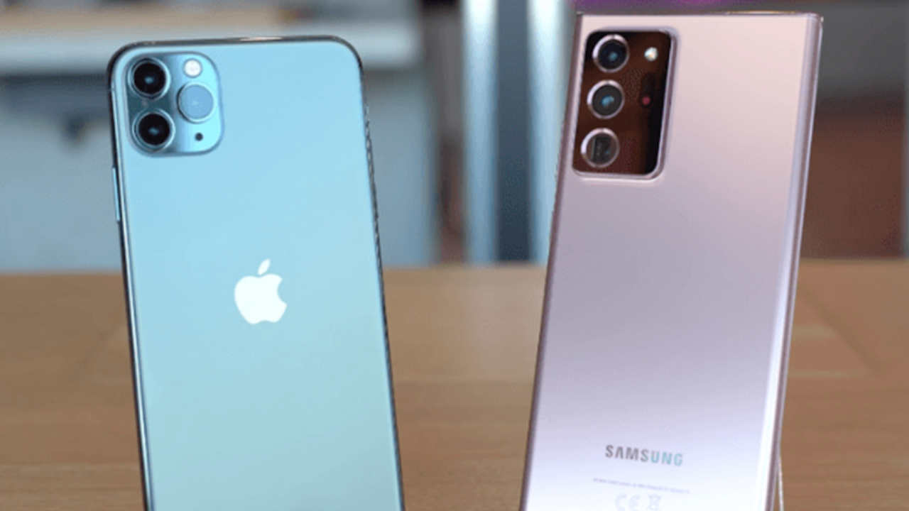 How to transfer content from an iPhone to a Samsung phone using Smart Switch?