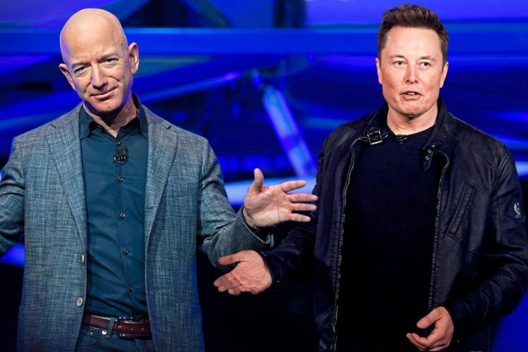 """Elon Musk vs Jeff Bezos: SpaceX CEO opened up to journalists: """"You cannot sue your way to the Moon."""""""