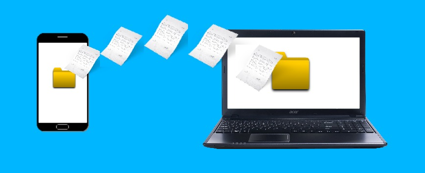 How to transfer your files and photos from Android to Windows 10?
