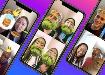 Facebook Messenger now offers new AR Group Effects for video calls