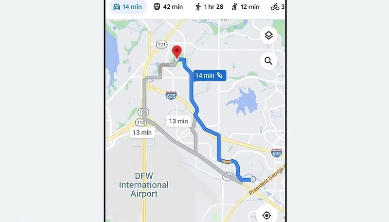 Google Maps will no longer always recommend the fastest route: The default route will be the least polluting route