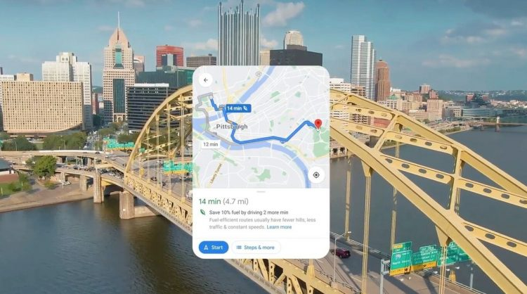 Google Maps will no longer always recommend the fastest route: The default route will be the least polluting one