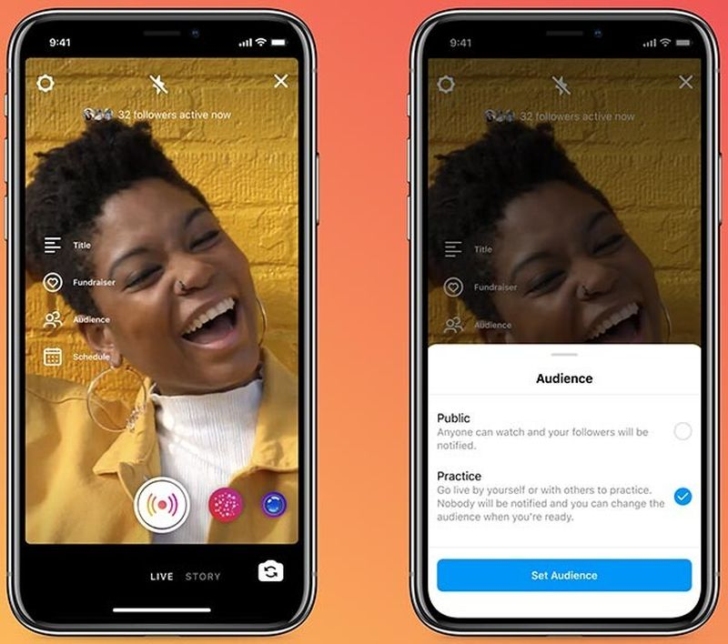Instagram adds scheduling and practice mode features for Live creators