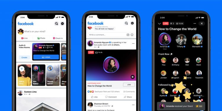 Facebook adds a new Audio feature for podcasts, live audio, more