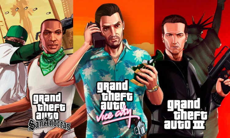 Grand Theft Auto: The Trilogy is officially announced by Rockstar Games