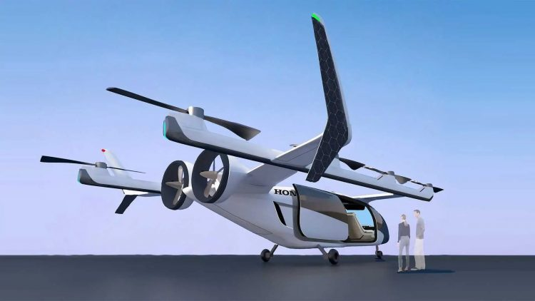 Honda to invest in  billion in flying cars, rockets and robots