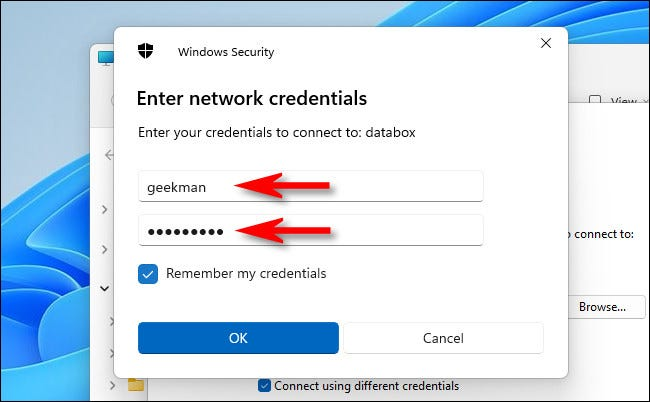 How to map a network drive on Windows 11?